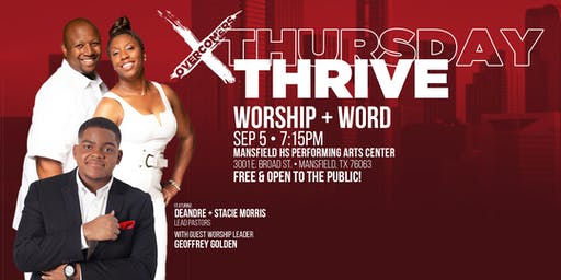Thursday Thrive By Overcomers DFW