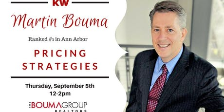 Martin Bouma-Pricing Strategies tickets