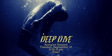 Deep Dive Sampler Session tickets