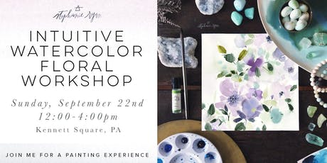 Intuitive Watercolor Floral Workshop tickets