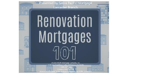 Renovation Financing 101
