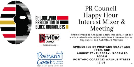 PABJ presents: PR Council Happy Hour Mixer & Meeting  tickets