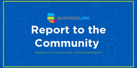 Business Link: Report to the Community tickets