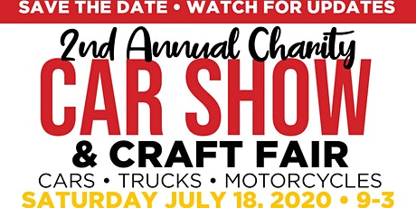 2nd Annual Charity Car Show tickets