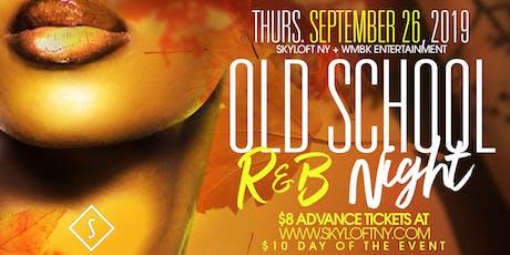 Old School R&B Night tickets