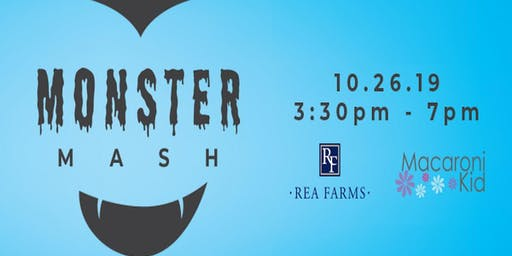 2019 Monster Mash! Trick or Treating and Movie Under the Stars at Rea Farms