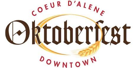 2019 Coeur d'Alene Oktoberfest tickets