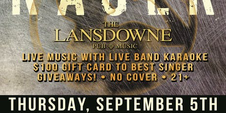 Welcome Back Students Rager At The Lansdowne Pub & Bill's Bar!  tickets