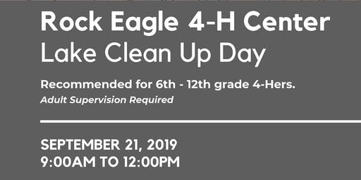 Rock Eagle Lake Clean Up Day
