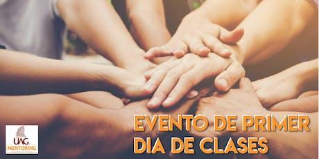 Evento Primer día de Clase  (GIMNASIO UNIVERSITARIO DE BASKET) boletos