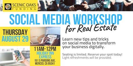 Social Media Workshop for Real Estate (Merced) tickets