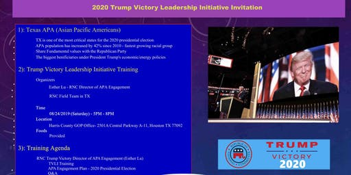 APA Trump Victory Leadership Initiative Training