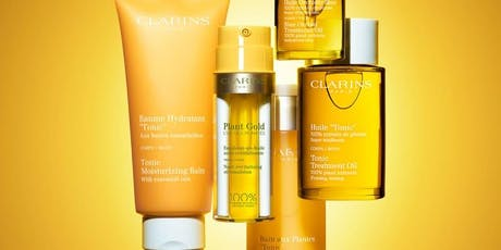Clarins Plant Gold Exclusive tickets