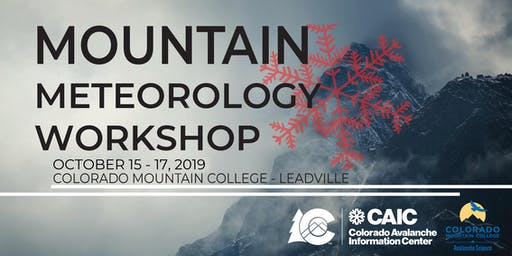 Mountain Meteorology Workshop