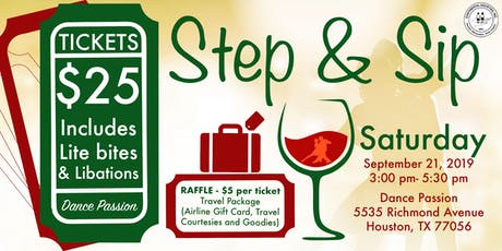 Step & Sip tickets