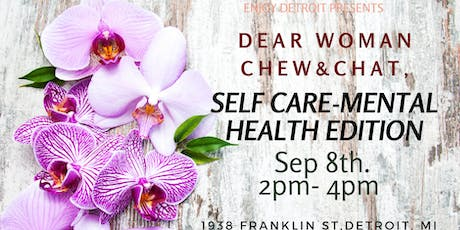 Dear woman chew and chat tickets