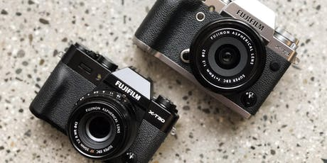 Getting to Know Your Fujifilm X Series Camera tickets