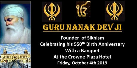 Banquet - Guru Nanak 550th Celebration - Montreal tickets