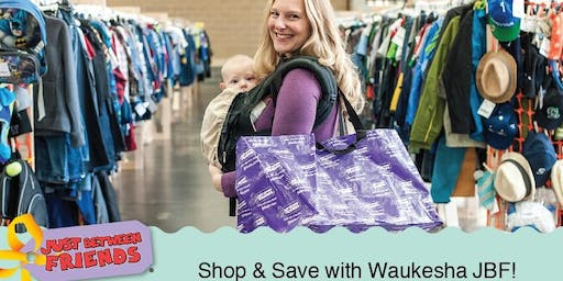 Just Between Friends of Waukesha 2019 Fall PRESALE PASS - DAY CARE CENTERS