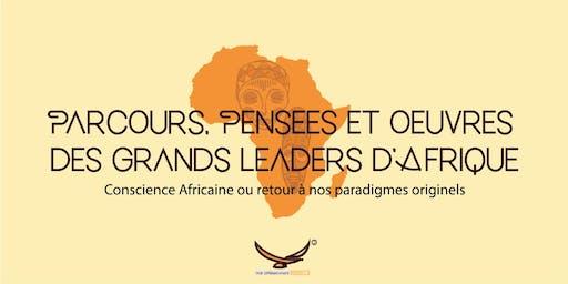 Conscience Africaine ou Retour à nos Paradigmes Originels