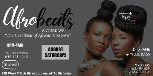 AFROBEATS SATURDAYS! FIRST 100 LADIES ARE FREE WITH RSVP