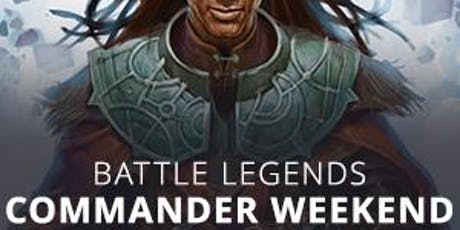 Magic Commander Weekend at Round Table Games tickets