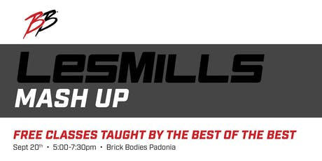Les Mills Mash Up tickets