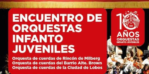 ENCUENTRO DE ORQUESTAS INFANTO - JUVENILES. TEATRO MUNICIPAL PEPE SORIANO