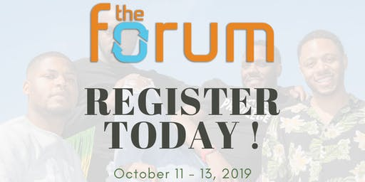 The Forum 2019 · We Are The Ones