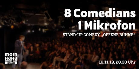 """MOINHAHA №15 - Stand Up Comedy """"Offene Bühne"""" Tickets"""