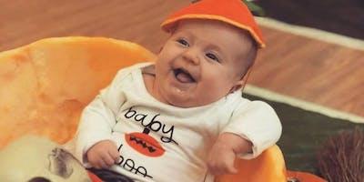 Babies First Halloween Craft