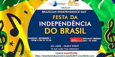 Brazilian Independence Day - Festa da Independência do Brasil tickets