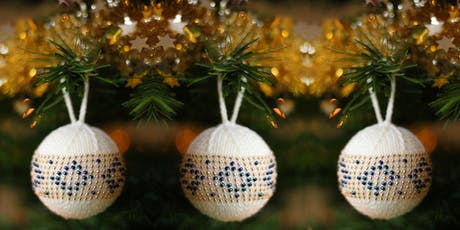 Bead Knitted Bauble with Fiona Morris tickets