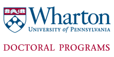 2019 Wharton Doctoral Programs Information Session tickets
