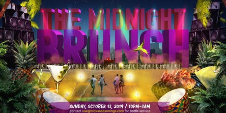 The Midnight Brunch (No Work Monday) Howard Homecoming tickets
