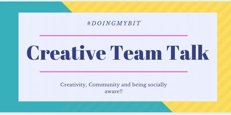The Creative Team Talk tickets