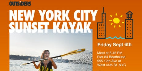 City Sunset Kayaking tickets