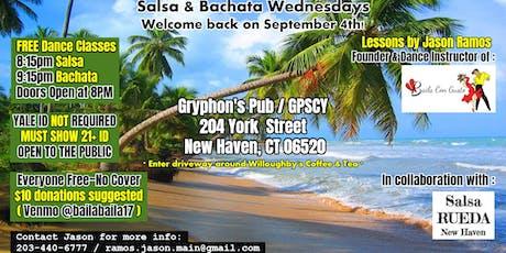 Salsa & Bachata Wednesdays - New Haven Dance Classes & Parties boletos