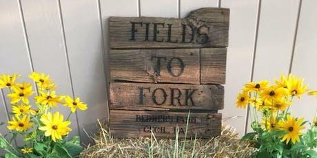 Fields to Fork Wine Dinner tickets