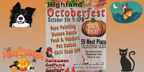Highland Octoberfest tickets
