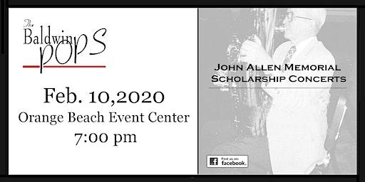 The Baldwin Pops John Allen Memorial Scholarship Concert