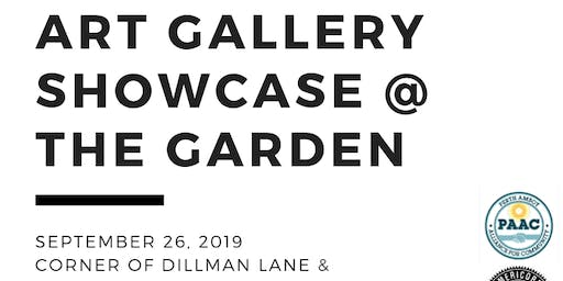 Art Gallery Showcase @ The Garden