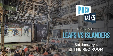 Puck Talks Watch Party: Leafs - Islanders tickets