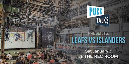 Puck Talks Watch Party: Leafs - Islanders