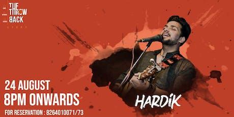 Hardik's LIVE MUSIC tickets
