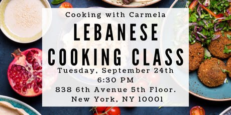 Lebanese Cooking Class tickets