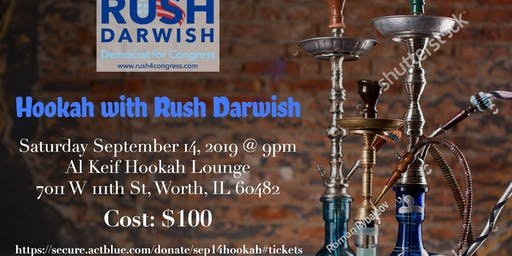 Hookah with Rush Darwish!