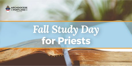 Fall Study Day for Priests entradas