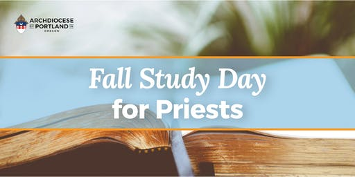 Fall Study Day for Priests