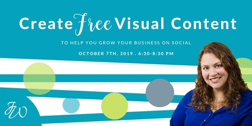 Create FREE Visual Content for Social Media